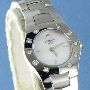 Tissot Tissot T64168581 T-round Diamond Bezel Mop Ladies Watch