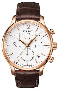 Tissot Tissot Tradition Leather Mens Watch T0636173603700