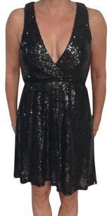 Tobi Sequins Sparkly Stretchy Fabric Mini Dress