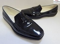 Tod's Tods Patent Leather Black Flats