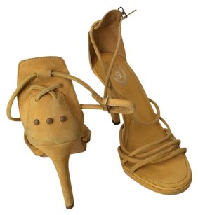 Tod's Mustard Sandals
