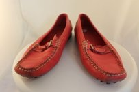 Tod's Tods Womens 388 Red Flats