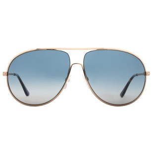 Tom Ford Tom Ford Cliff Shiny Gold/Havana Men's Aviator Sunglasses