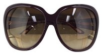 Tom Ford Tom Ford Sabine TF 65 187 Dark Cherry Plastic Style Sunglasses