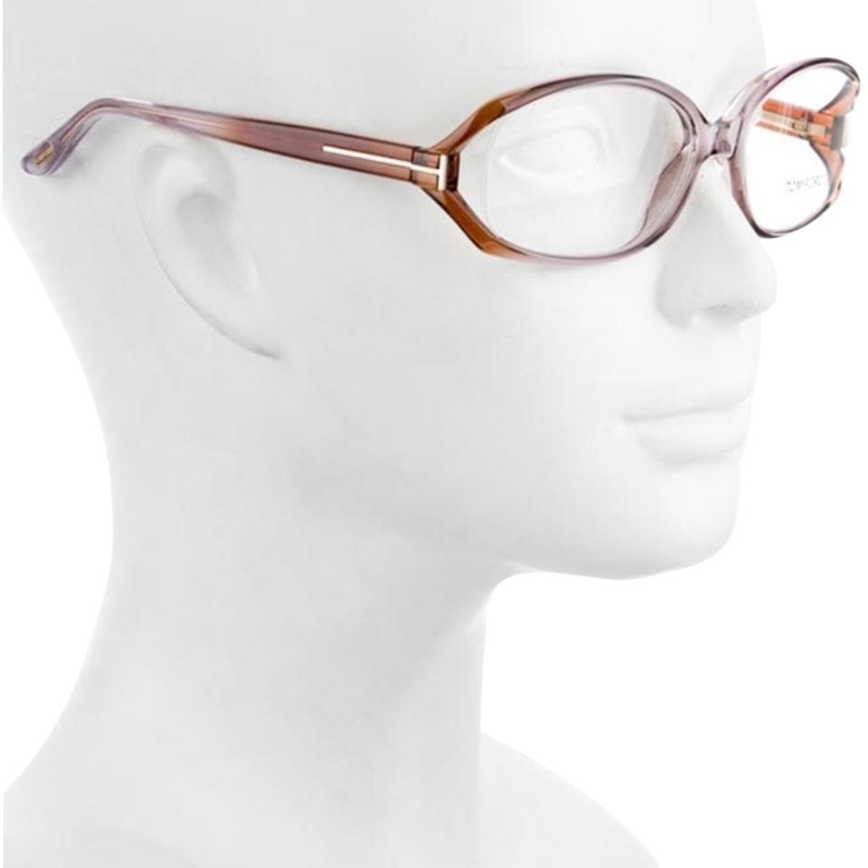 Eyeglasses cost - Tom Ford Tom Ford Tf5186 Eyeglasses Lilac Brown Clear Lens Low Cost