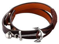 Tom Hope Tom Home Anchor Bracelet Tom Hope Genuine Leather Bracelet