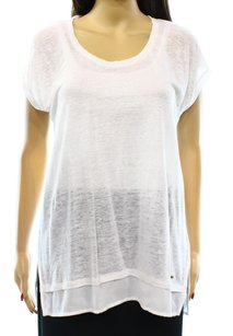 Tommy Hilfiger 100% Linen 7656525 Batwing Top