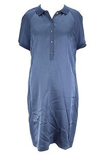 Tommy Hilfiger short dress blue Good Womens Polyester Nbw on Tradesy