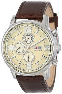 Tommy Hilfiger Tommy Hilfiger Leather Chronograph Mens Watch 1710337