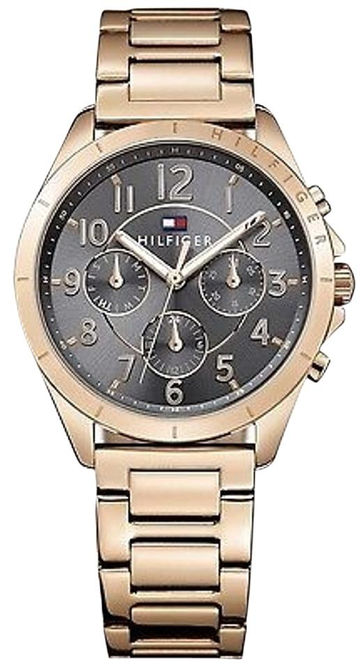 tommy hilfiger rose gold tone ladies watch 1781606. Black Bedroom Furniture Sets. Home Design Ideas