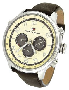 Tommy Hilfiger Tommy Hilfiger Watch, Men's Chronograph Tyler Brown Leather Strap 1790767