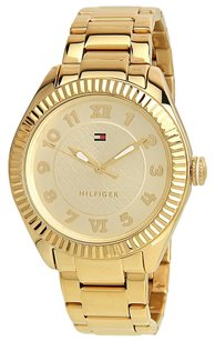 Tommy Hilfiger Tommy Hilfiger Women's 1781345 Casual Sport Gold-Plated Coin Edge Bezel Watch