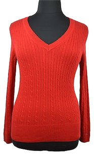 Tommy Hilfiger 48 20 Cable Knit Long Sleeve Size Sweater