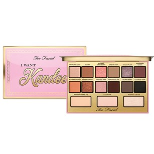 Too Faced Too faced I want Kandee Eyeshadow palette By Kandee Johnson