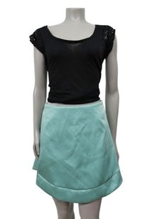 Topshop Limited Edition Satin Skirt Mint