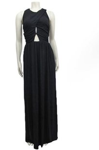 Black Maxi Dress by Topshop Keyhole Wrap Maxi