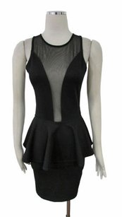 Topshop Sheer Mesh Dress
