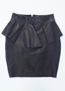 Torn by Ronny Kobo Womens Skirt Black