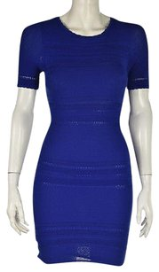 Torn by Ronny Kobo Womens Bodycon Textured Above Knee Dress