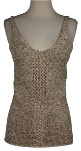 Torn by Ronny Kobo Womens Cut Out Knit Shirt Sweater