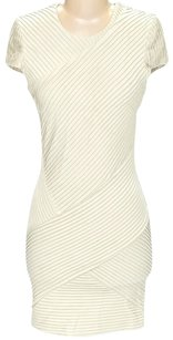 Torn by Ronny Kobo Textured Shift Sheath Dress