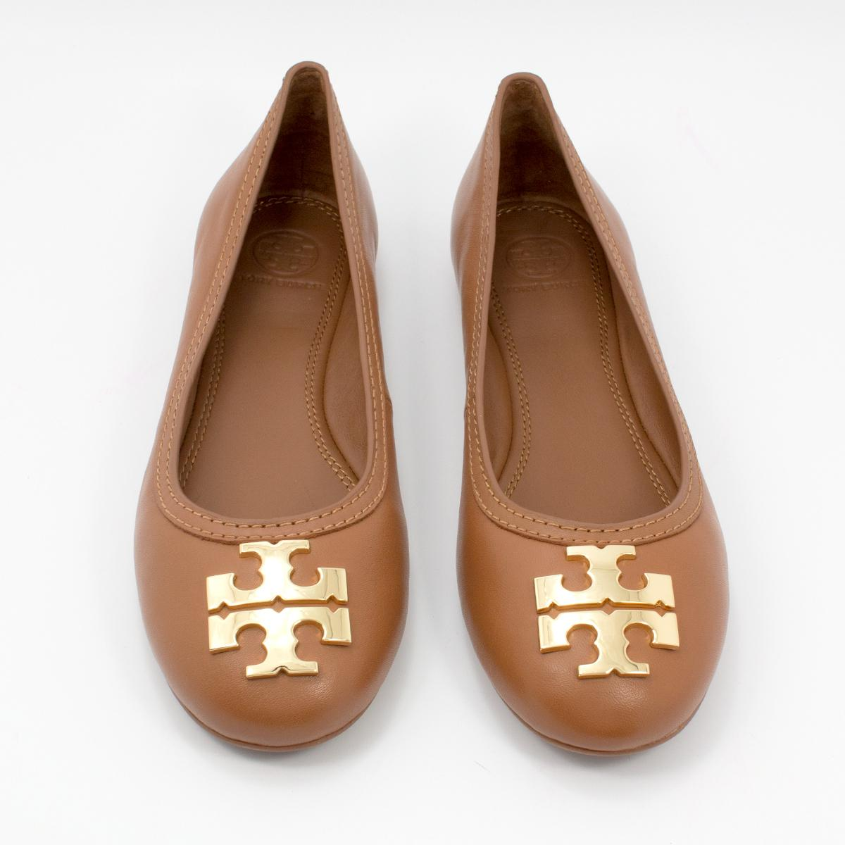 3110cf2771796 ... norway tory burch 34289 190041396993 royal tan gold flats. 12345678  d6eb6 f18a0