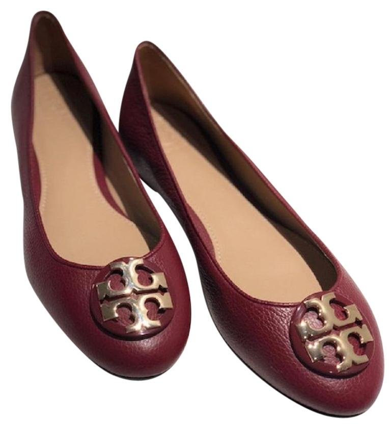 Tory Burch AGATE/ GOLD Flats ...