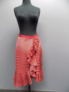 Tory Burch Skirt Red And Pink