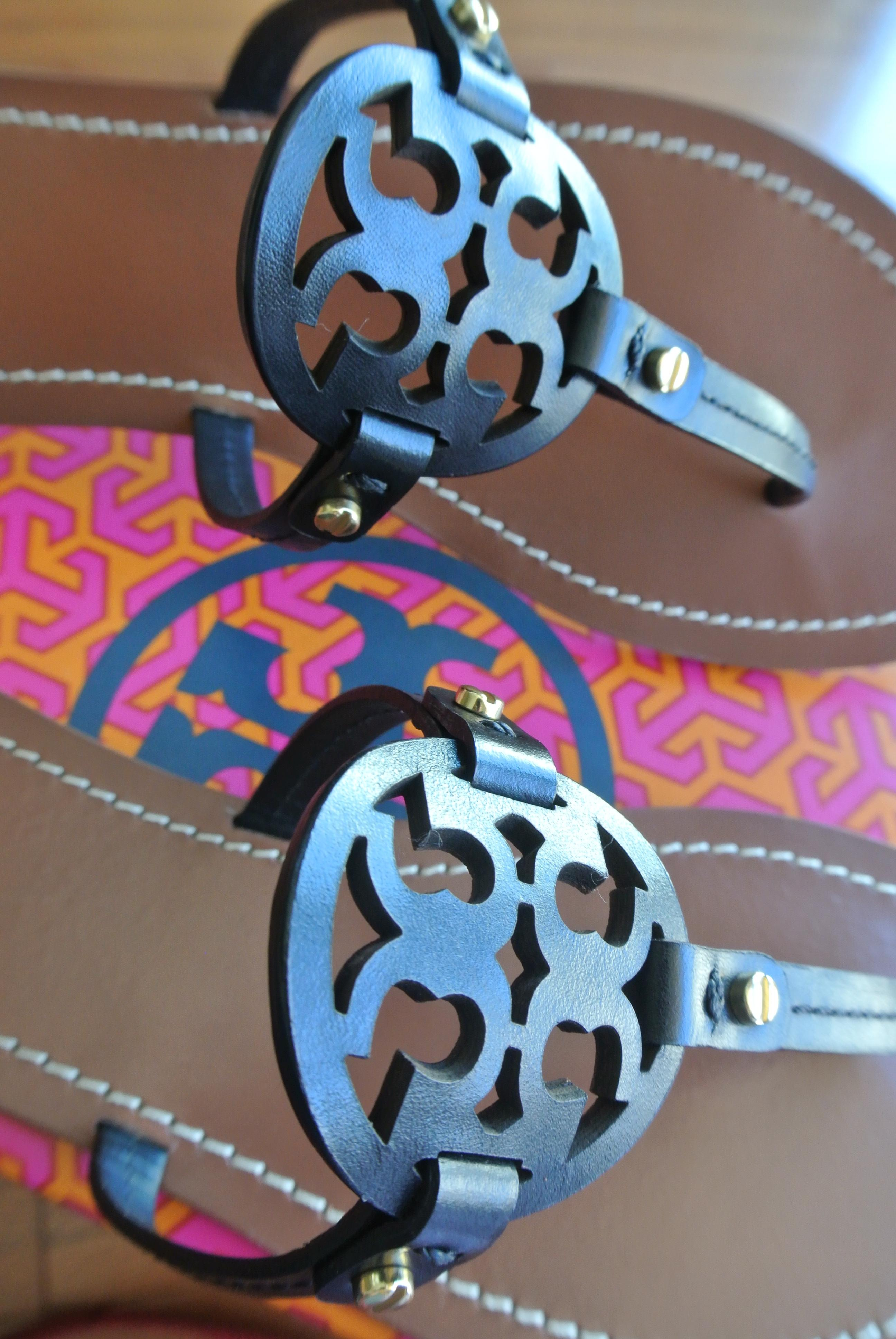 38ce9bf78130 ... Tory Burch Black End-of-summer-sale Mini Miller Sandals Size Size Size  ...