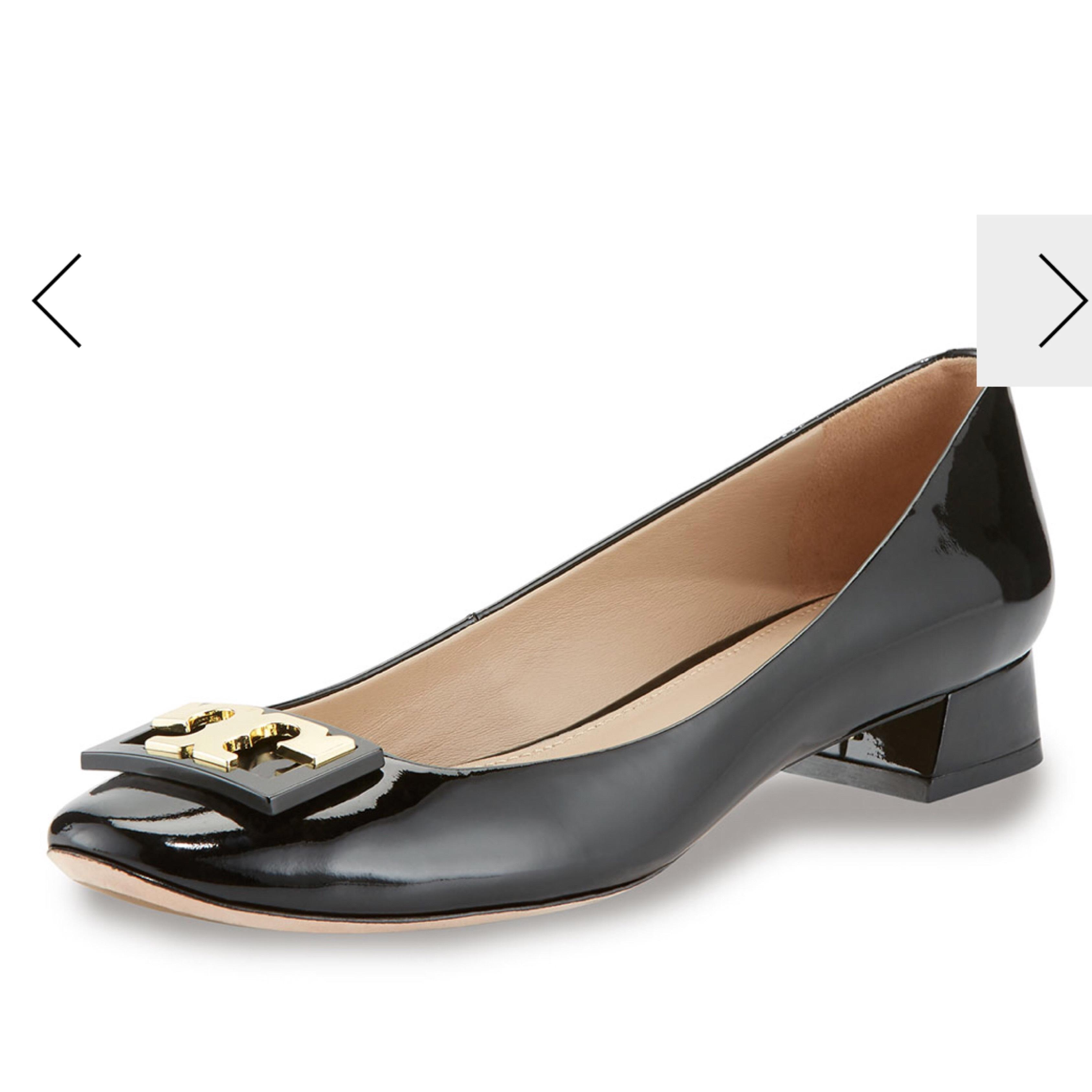 Tory Burch Black Pumps ...