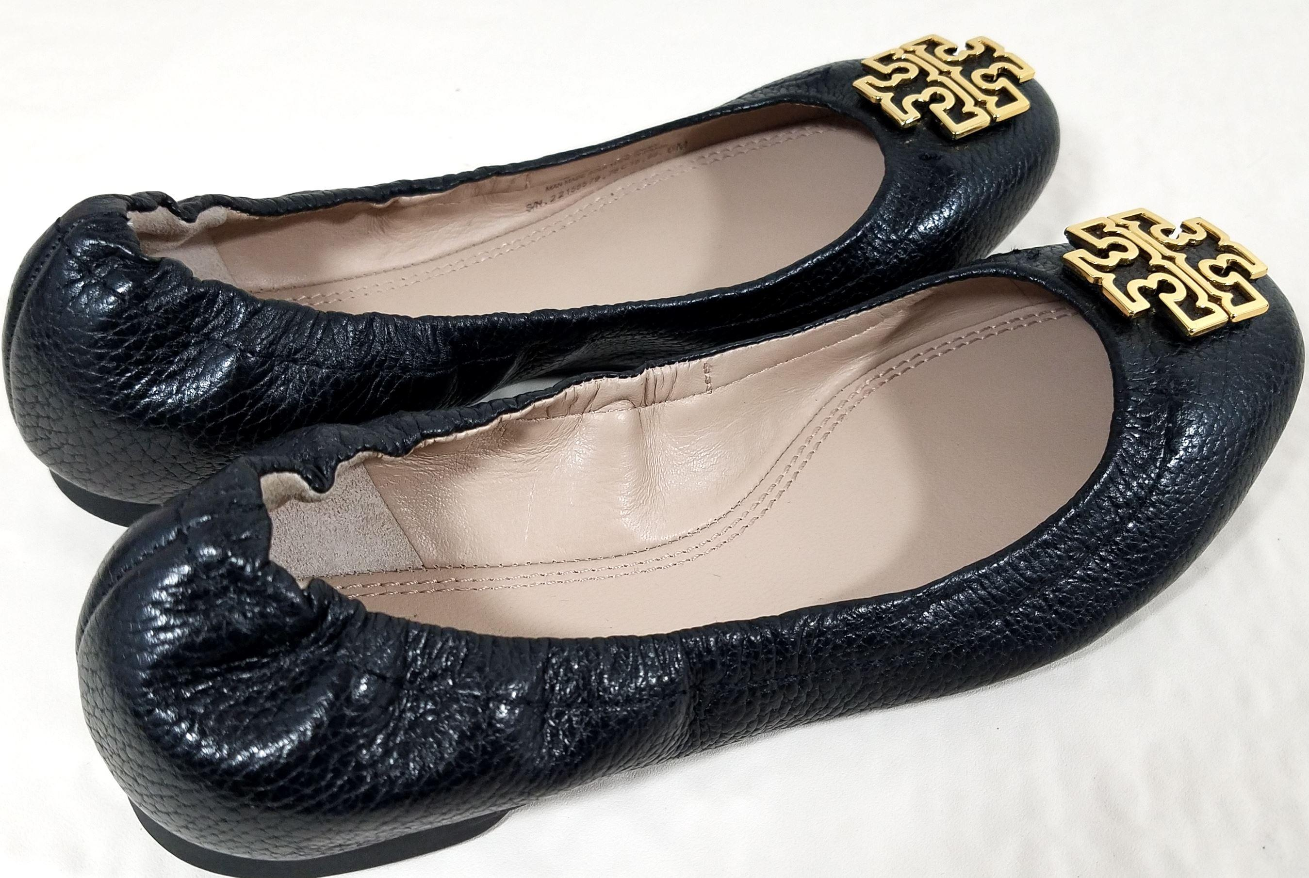tory burch cuir noir melinda apparteHommes ts us ordinaires (taille us ts 7 m, b) 11a928