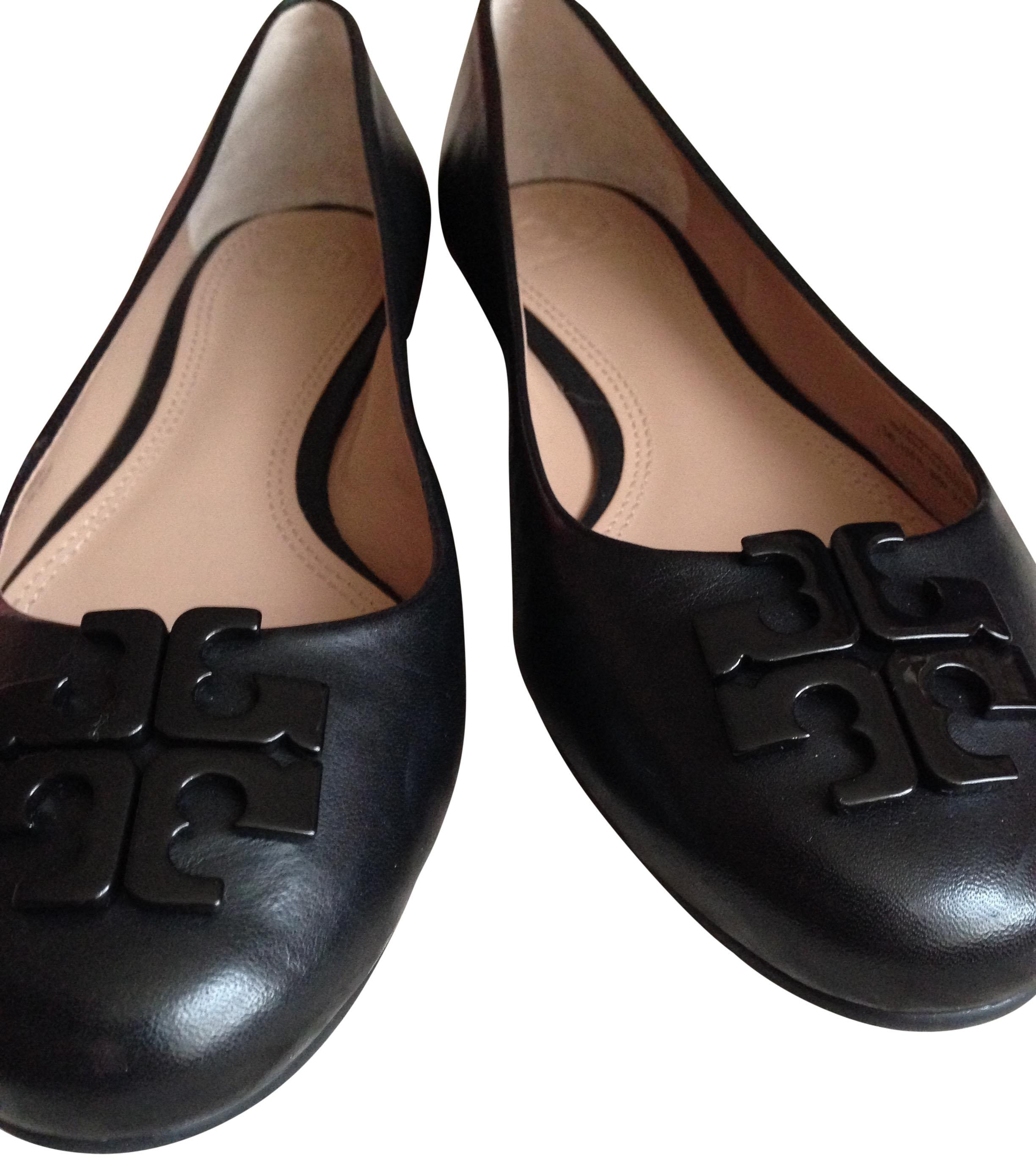 Tory Burch Leather Round-Toe Loafers clearance ebay real cheap online original cheap price zrcQocgpB9
