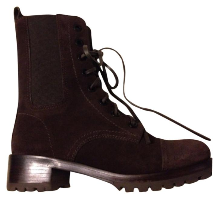 Tory Burch Brown Leather Ankle Boots