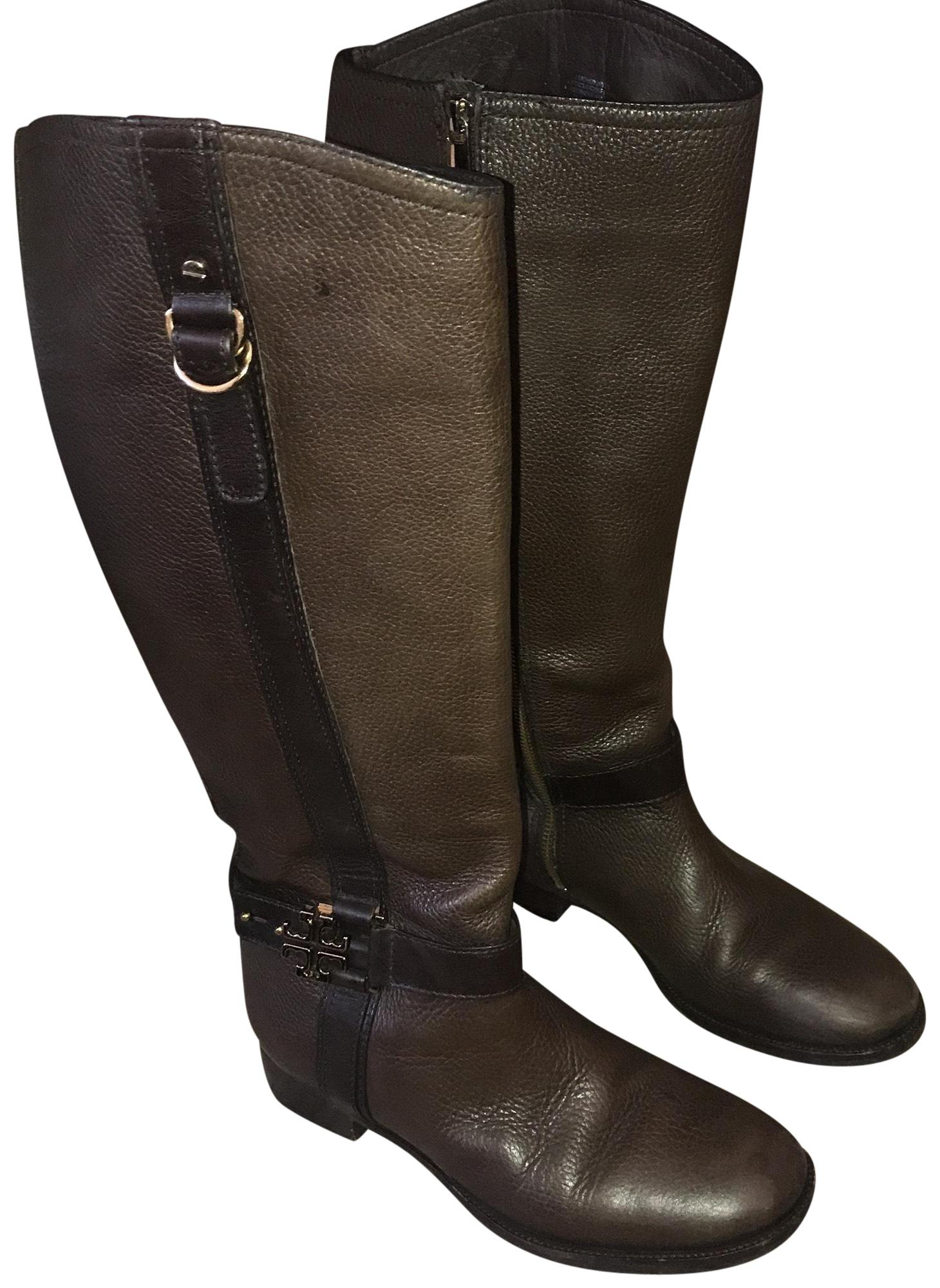 8efb2a2342209 low cost tory burch flannel riding boots 7484c 53721