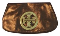 Tory Burch Bronze/copper Clutch