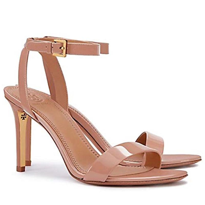 Tory Burch Elana 85mm Light Oak Sandals Size US 9 Regular (M, B)