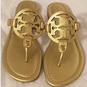 Tory Burch golden Sandals