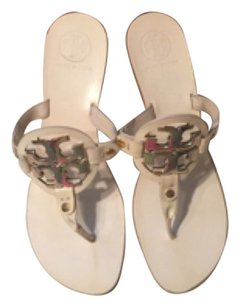 Tory Burch Holly Kitten Heels white Sandals