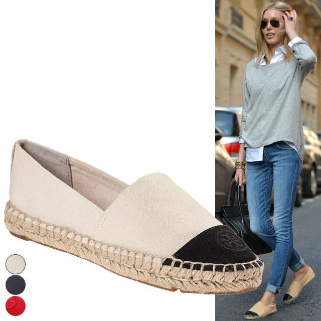 Tory Burch colour block flat espadrilles cheap sale sneakernews from china sale online cheap sale visa payment cheap original sale supply 2Gghu1A3
