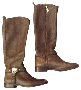Tory Burch Leather Purse Brown Boots