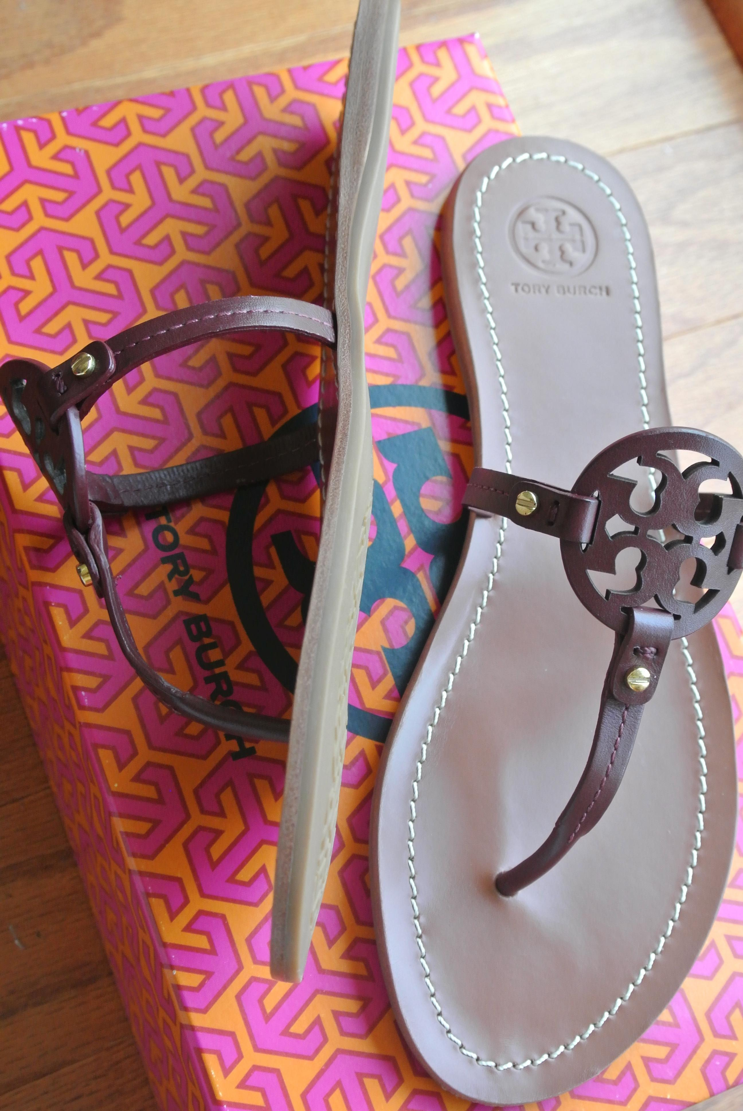 0cb07a12f ... Tory Burch Red End-of-summer-sale Mini Miller Sandals Size US US ...