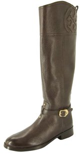 Tory Burch Marlene Brown Black Boots