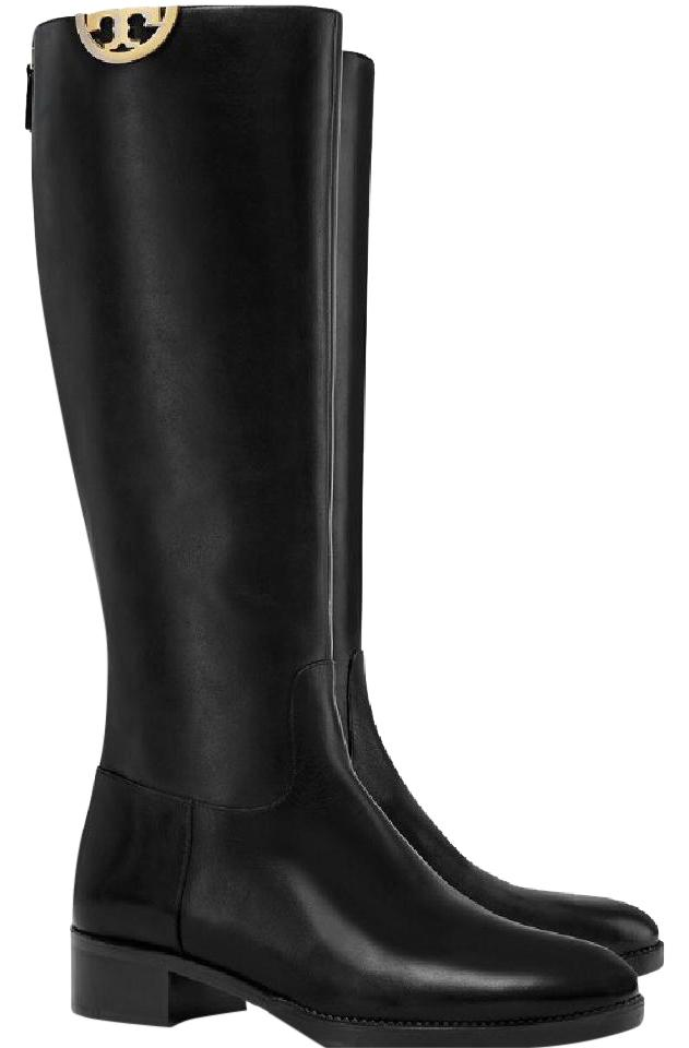 Tory Burch Sidney High Knee Leather Boots 9
