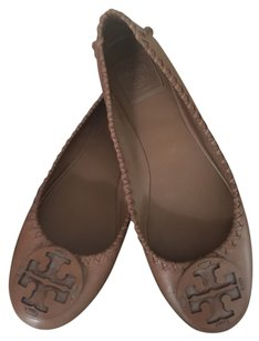 Tory Burch Ballet Tan Flats