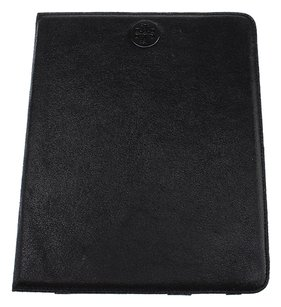 Tory Burch Tory Burch Black Cracked Leather iPad Cover (28229)