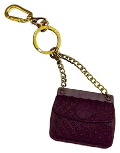 Tory Burch Tory Burch Quilted Marion Key Fob