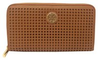Tory Burch Tory Burch Robinson Perforated Continental Wallet