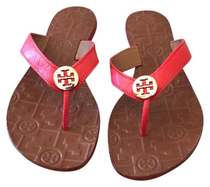 Tory Burch Vermillion 35055 Sandals Size US 8 Regular (M, B)