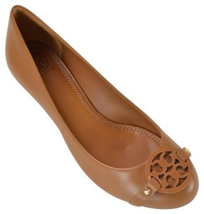 Tory Burch Wedge Small Tan Wedges