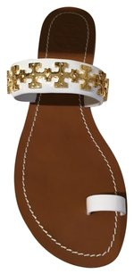 Tory Burch White Sandals